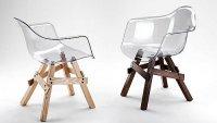 Krzesła przezroczyste Icon Chair