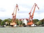 Transport morski, żurawie portowe
