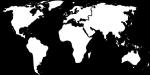 Mapa świata, kontury