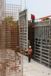 budowa, rusztowania