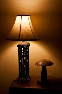 oświetlenie w salonie