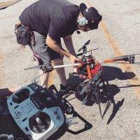 użytkownicy drona