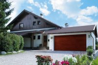 Brama garażowa firmy Normstahl