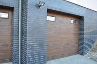 garaż z klinkieru