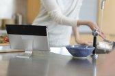 Xperia Tablet S w kuchni